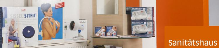 Sanitätshaus Lappe - Leistungen - Sanitätshaus