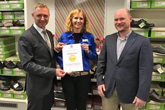 Sanitätshaus Lappe - Auszeichnung bester Fachhändler bundesweit