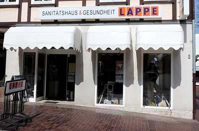 Lappe Bad Bevensen - Sanitätshaus Brückenstraße