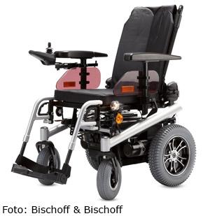 Sanitätshaus Lappe - Elektro-Rollstuhl von Bischoff und Bischoff