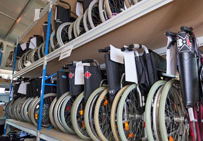 Sanitätshaus Lappe - Reha-Zentrum Bad Bevensen - Rollstuhl