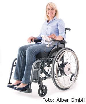 Sanitätshaus Lappe - e-fix - Rollstuhlantrieb von Alber GmbH