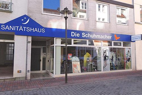 Sanitätshaus Lappe Uelzen - Fachhandel Gesunde Schuhe - Ladengeschäft