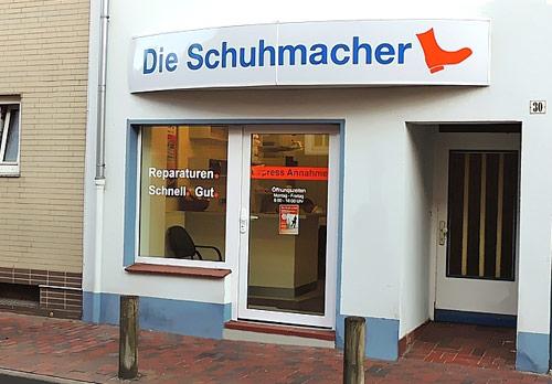 Sanitätshaus Lappe Uelzen - Die Schuhmacher - Ladengeschäft