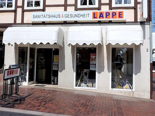 Sanitätshaus Lappe - Sanitätshaus in Bad Bevensen