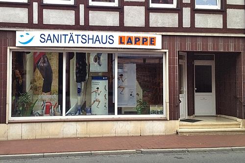 Sanitätshaus Lappe - das Sanitätshaus in Lüchow