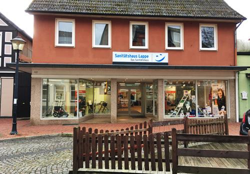 Sanitätshaus Lappe - das Sanitätshaus in Wittingen