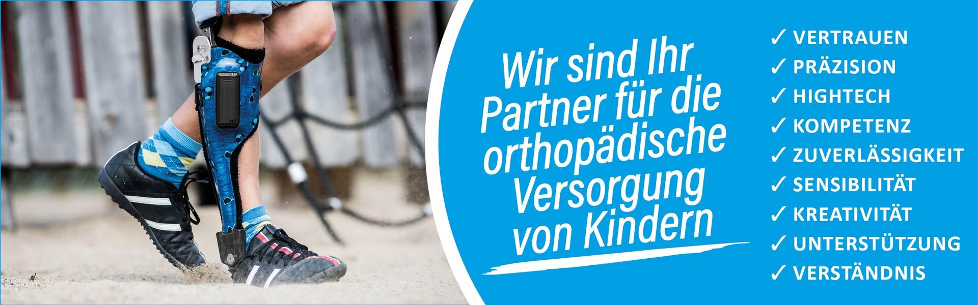 Sanitätshaus Lappe - Kinderversorgung in Orthopädie, Reha, Schuhtechnik