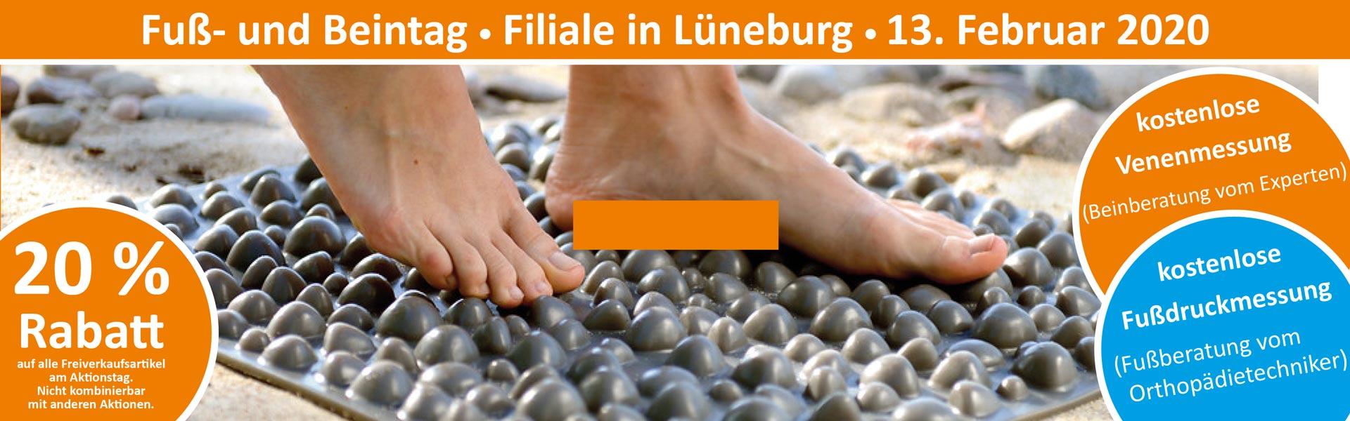 Sanitätshaus Lappe - Fuß- und Beintag Lüneburg 13.2.20