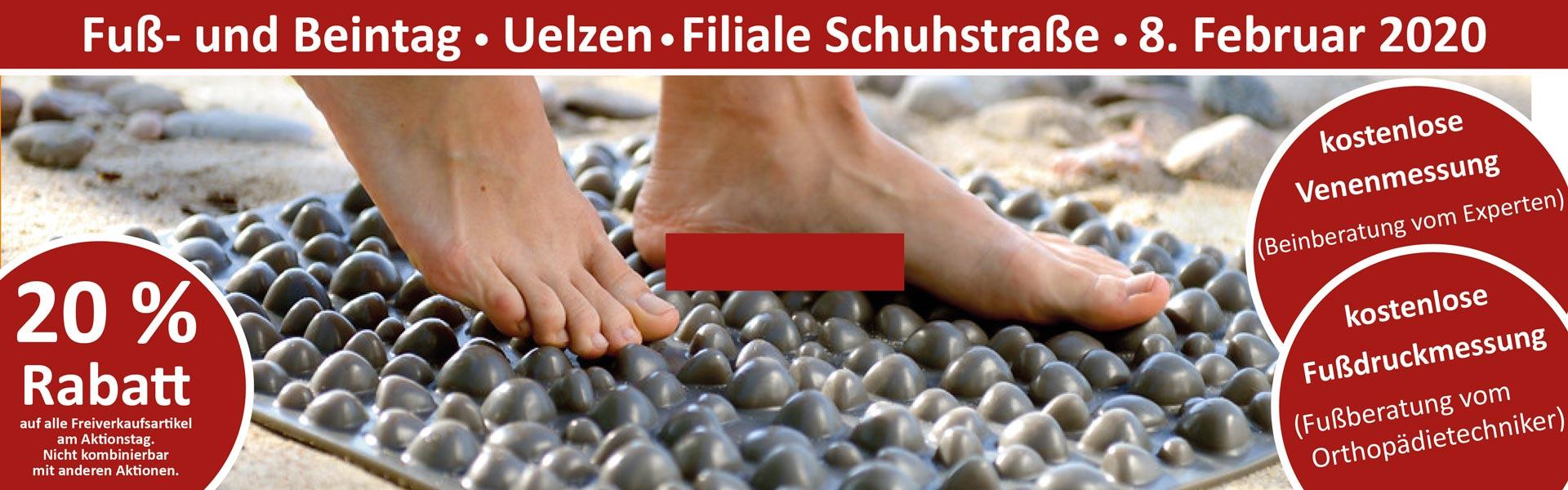 Sanitätshaus Lappe - Fuß- und Beintag Die Schuhmacher Uelzen 8.02.20