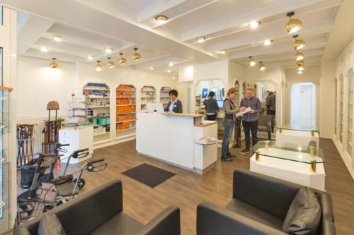 Sanitätshaus Lappe Bad Bevensen - Ladengeschäft innen