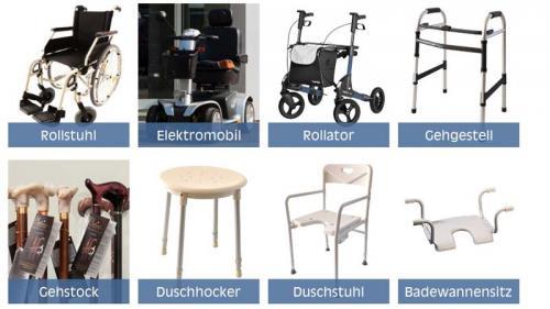 Sanitätshaus Lappe- Reha-Zentrum - Beispiele für Produkte