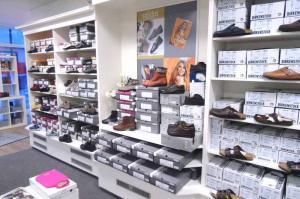 Sanitätshaus Lappe - Gesunde Schuhe - Ladengeschäft innen