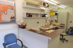 Sanitätshaus Lappe - Galerie Schuh-Reparatur - Werkstatt
