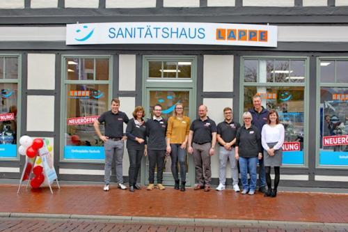 Sanitätshaus Lappe - Standort Lüchow - das Team