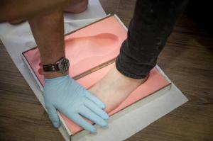 Sanitätshaus Lappe - Orthopädie-Fußmessung